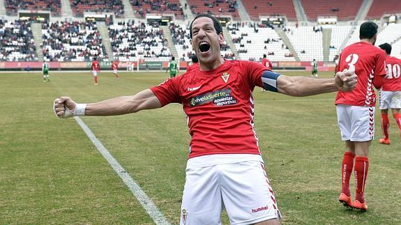Acciari celebra un gol esta temporada. (Foto: La Verdad)